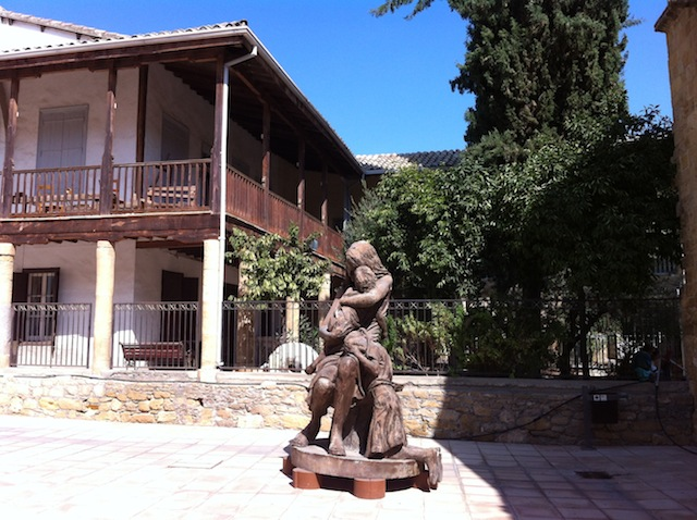 Agios Ioannis Cathedral statue