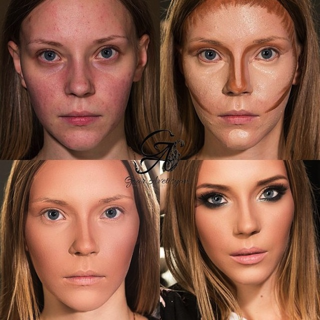amazing contouring-goar-avetisyan-before-after-2015