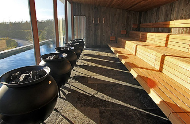 Wellness Waer Waters sauna