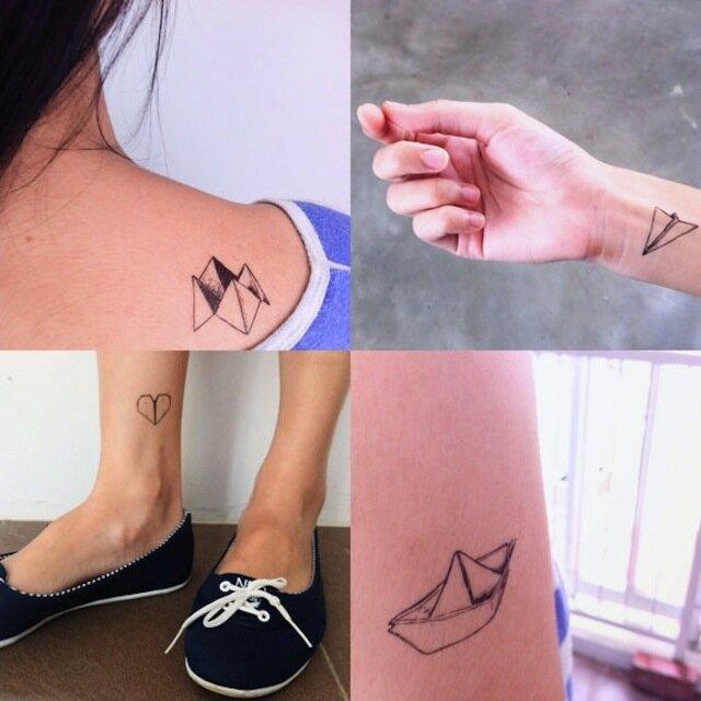origami-tattoo-idee