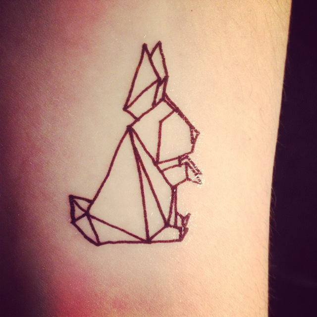 origami-tattoos-lapin