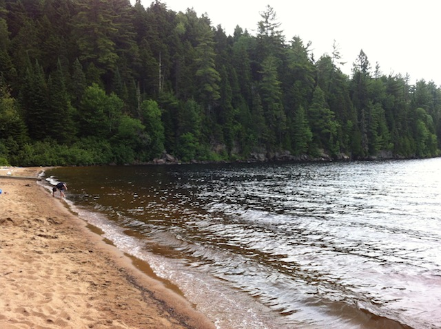 parc-national-mauricie-plage