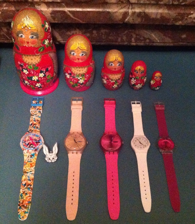 collection montres swatch