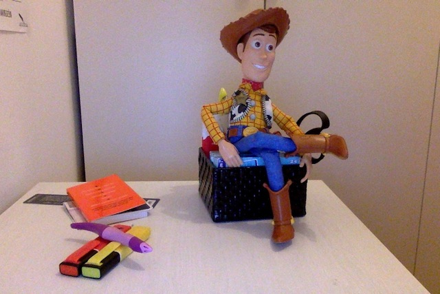 woody figurine toy story 3