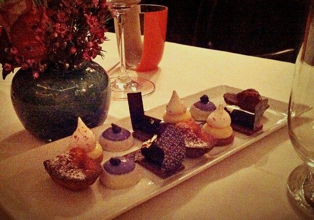 dessert villa lorraine bruxelles - café