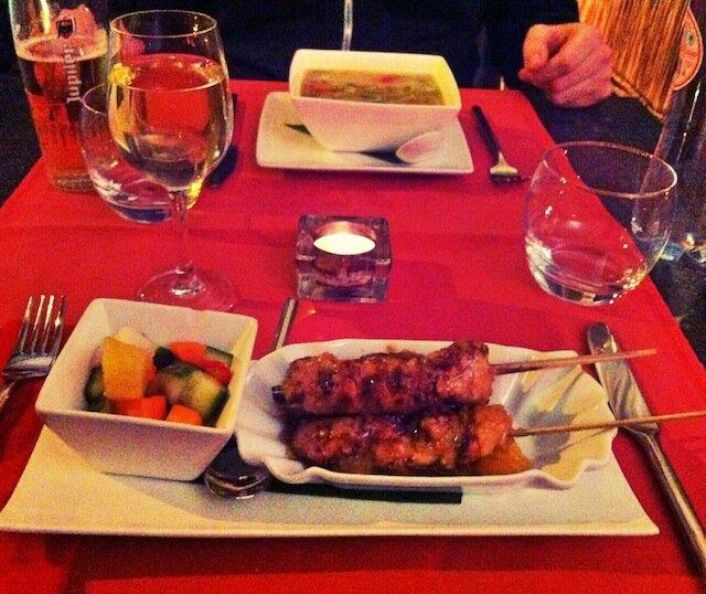 entrée - Garuda Indonesian Restaurant