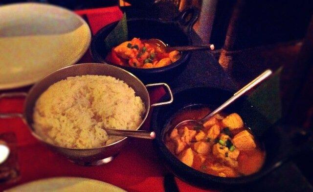 plats riz Garuda Indonesian Restaurant