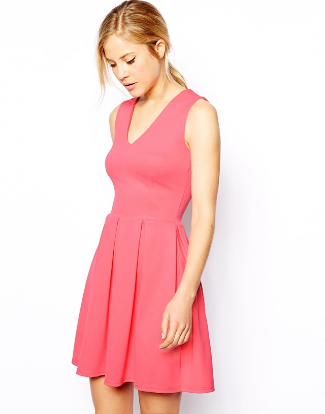 robe-rose-asos-solde