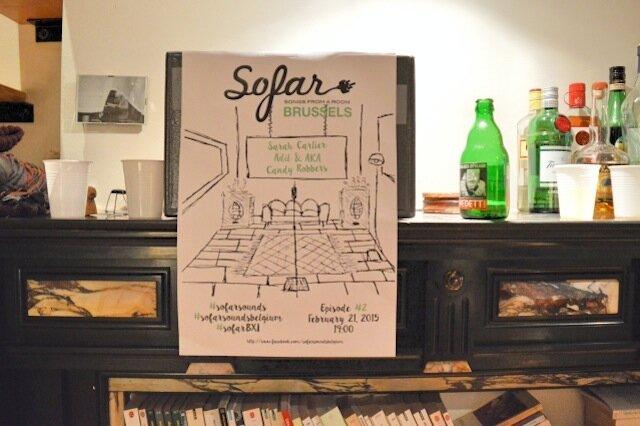 Sofar Sounds Belgium - artistes