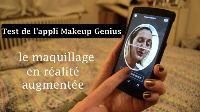 application makeup genius loréal