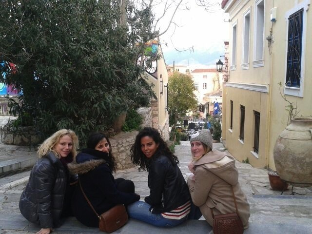 groupe citytrip athenes