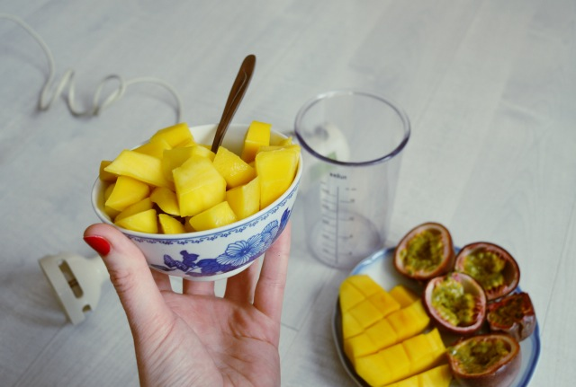 jus avec de la mangue
