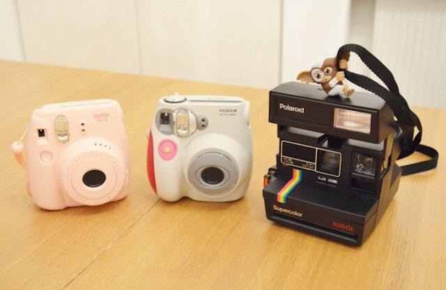 Fujifilm Instax 7s vs Instax 8 vs polaroid supercolor