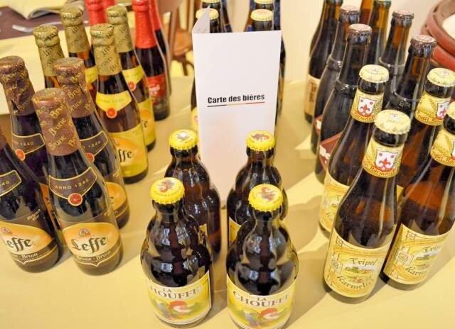 bières - Le restaurant Le P'tit Belge