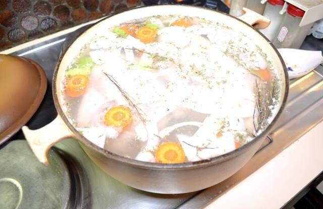 bouillon - Recette du Waterzooi à la gantoise