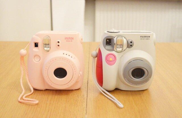 comparaison Fujifilm Instax 7s vs Instax 8