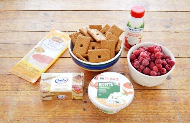 ingrédients-Cheesecake framboise speculoos sans cuisson.jpg