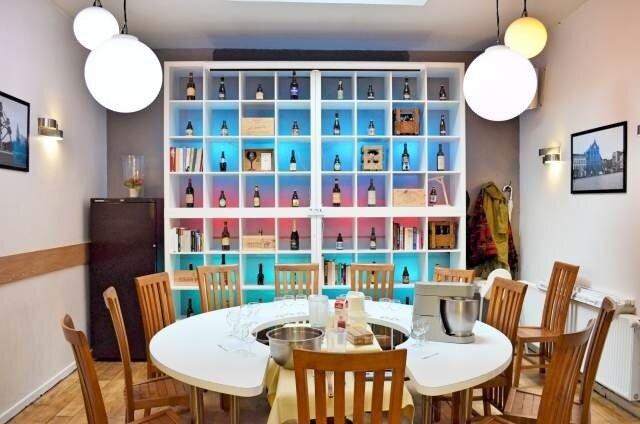 intérieur - Le restaurant Le P'tit Belge