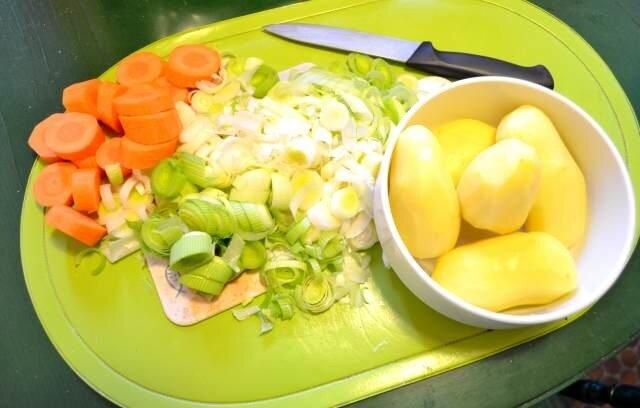 legumes patates - Recette du Waterzooi à la gantoise