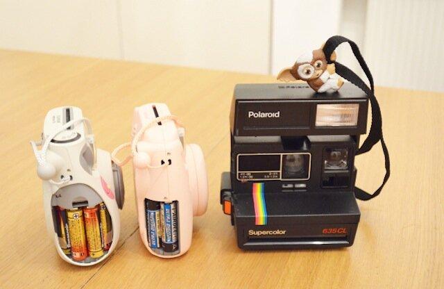 pile fujifilm vs polaroid