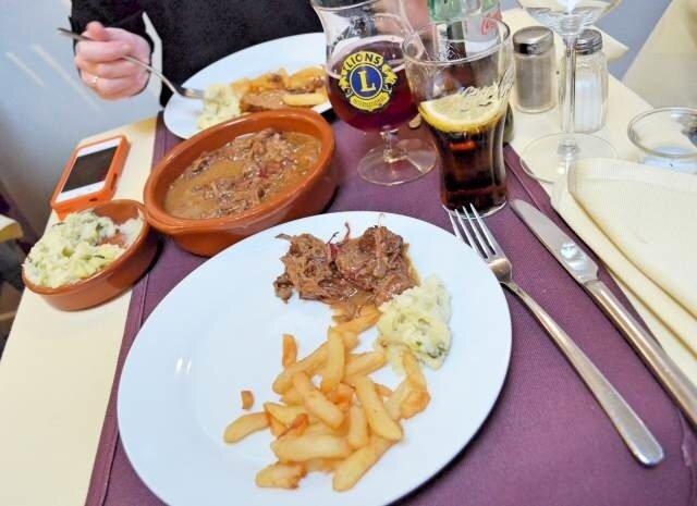 repas au ptit belge