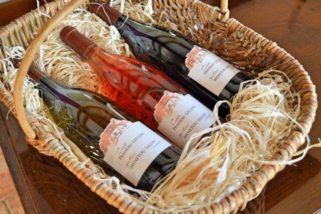 3 vins -domaine fraiseau leclerc