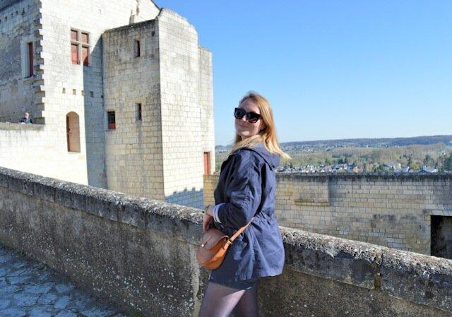caroline  forteresse de chinon