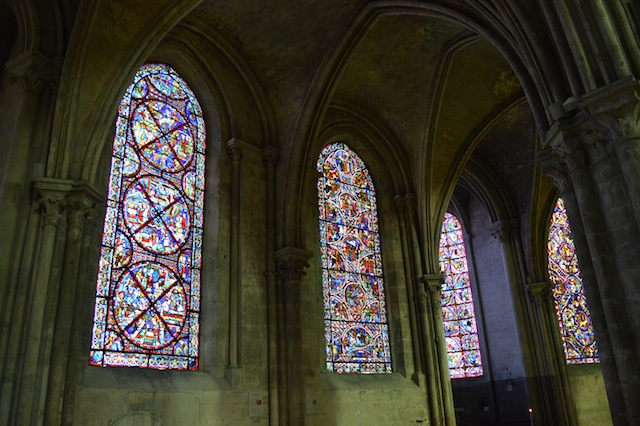 cathédrale de bourges vitraux