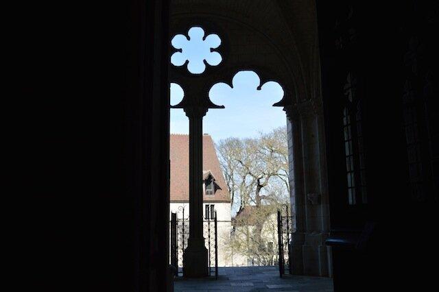 cathédrale de bourges vue dehors