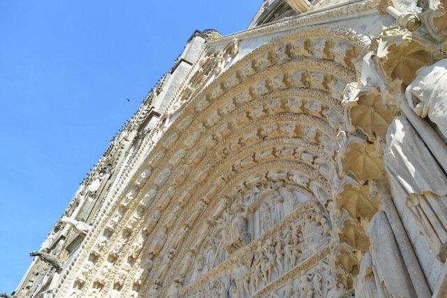 cathédrale de bourges vue du haut