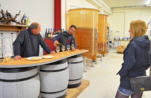 degustation de vins - domaine michel girault