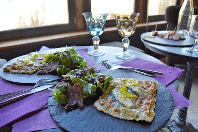 lasagne crottin - domaine de la chapinière