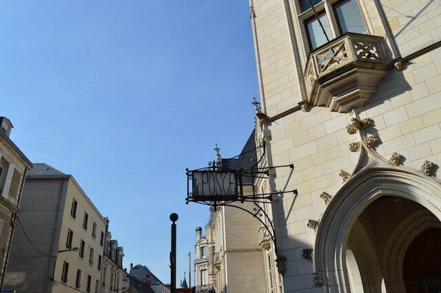 ruelles pas loin de cathédrale de bourges