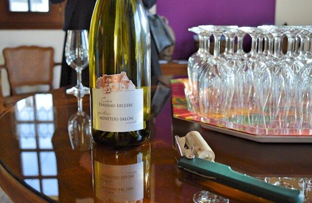 vin - domaine fraiseau leclerc - dégustation