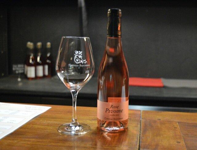 vin rosé domaine soucherie