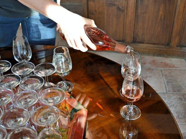 vin servit - domaine fraiseau leclerc