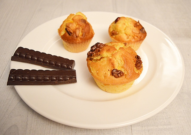 Muffins potirons, pommes & noix-delicieux
