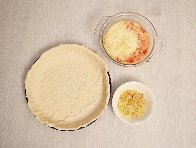 Recette-Quiche-potiron- tomates