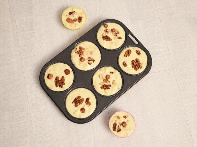 moules-Muffins potirons, pommes & noix